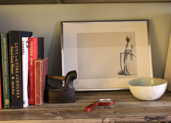 objects as bookends