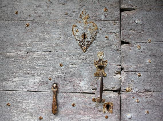 French antique door