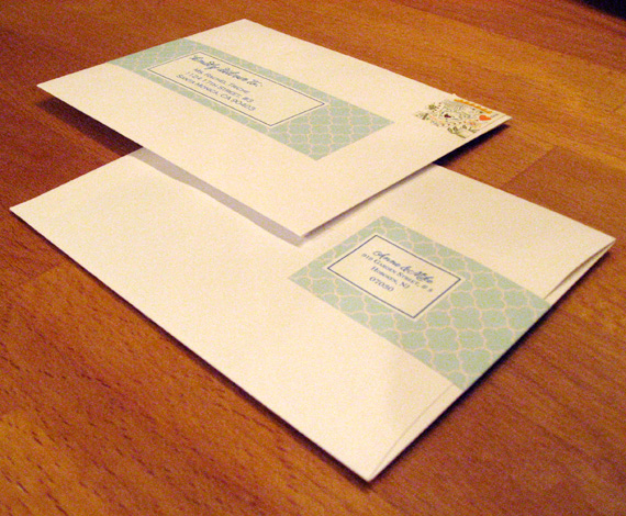 Loving Wrap Around Address Labels