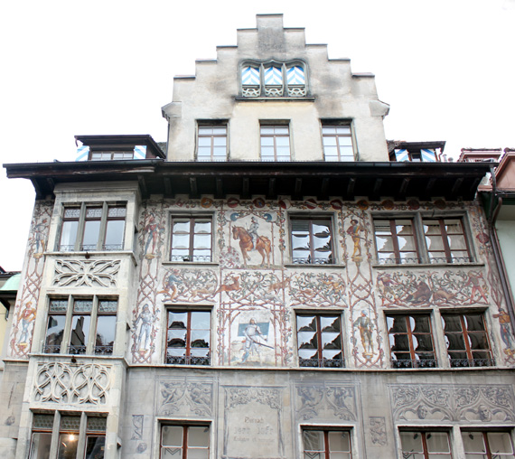 architecture in lucerne