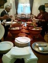 Dinner at the Sri Lankan Ambassador's house