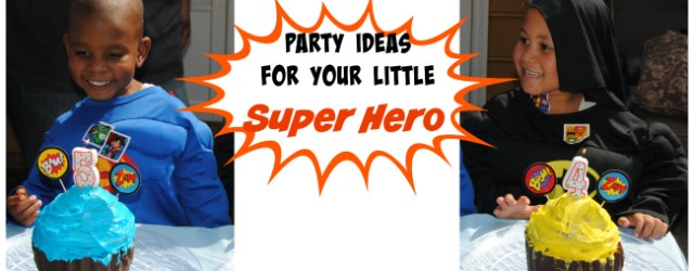 Super Hero Party Ideas Cake