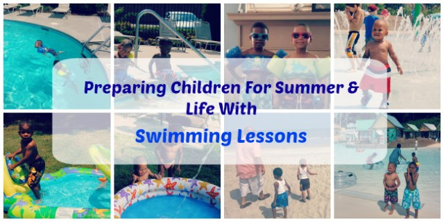 Summer Swimming Lessons Safety