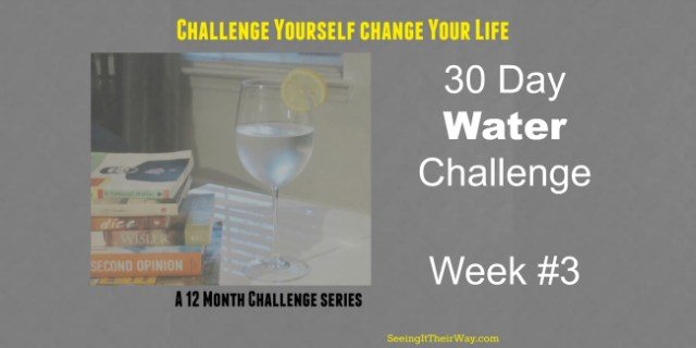 Drink More Water 30 Day Water Challenge