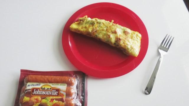 Johnsonville Sausage Omelette Plate
