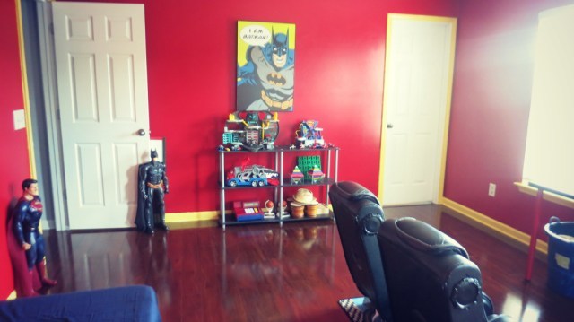 Playroom Decor Batman