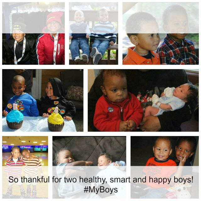 Thankful For My Boys