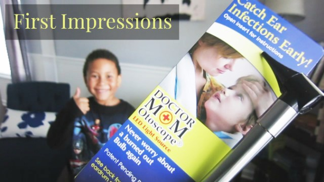 First Impressions Of Dr Mom Otoscope