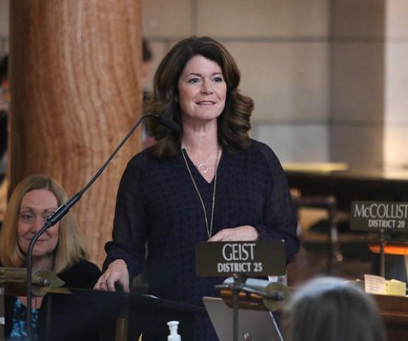 Nebraska State Senator Suzanne Geist