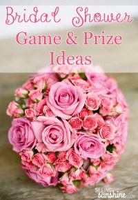 Three Fun Bridal Shower Games