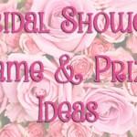 Three Fun Bridal Shower Games Seeing Sunshine