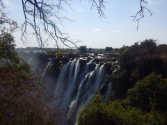 First views of a waterfall..... there are no words. Zambia 2013