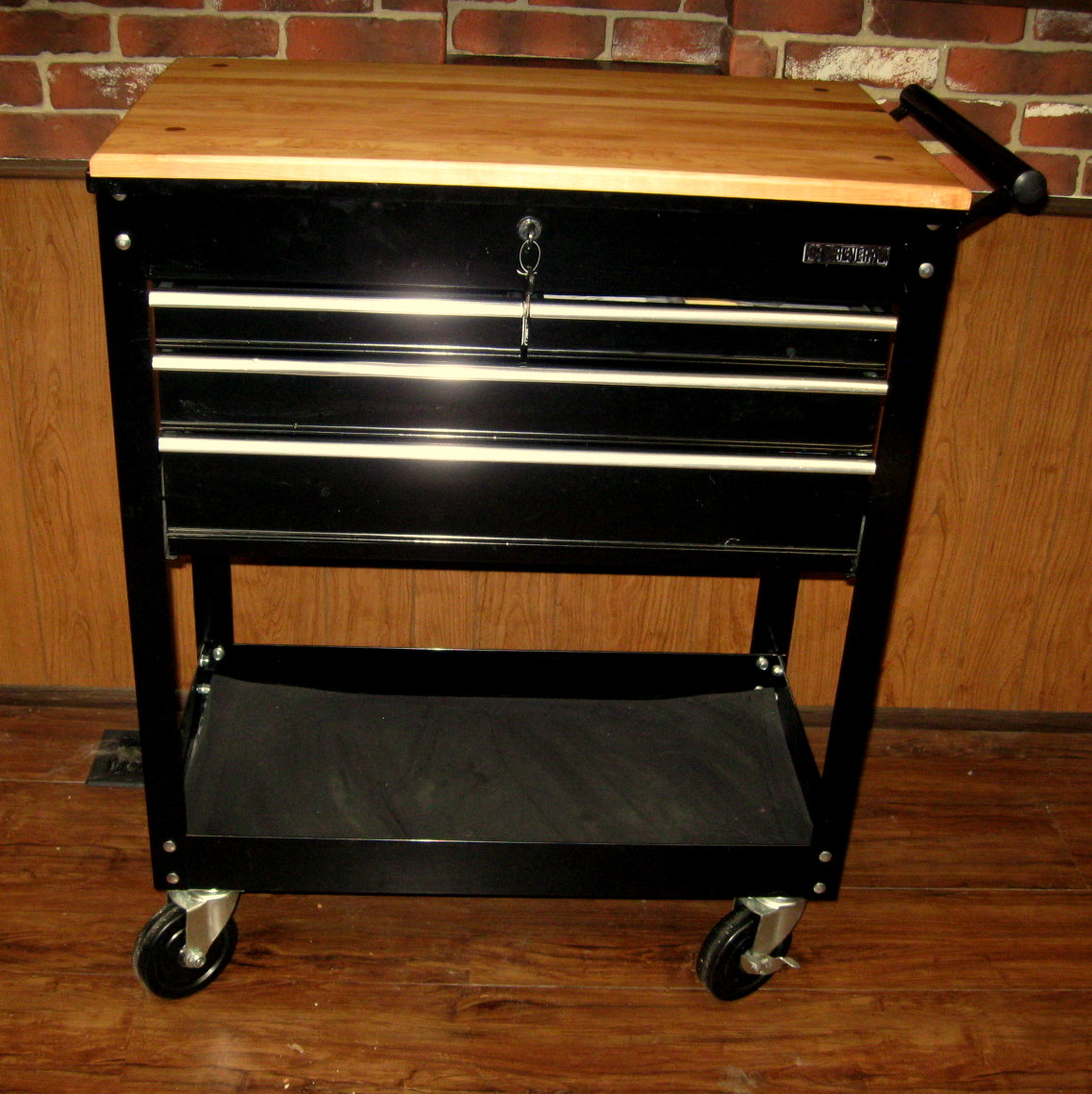 DIY Amazing Rolling Kitchen Island  See Jane Drill