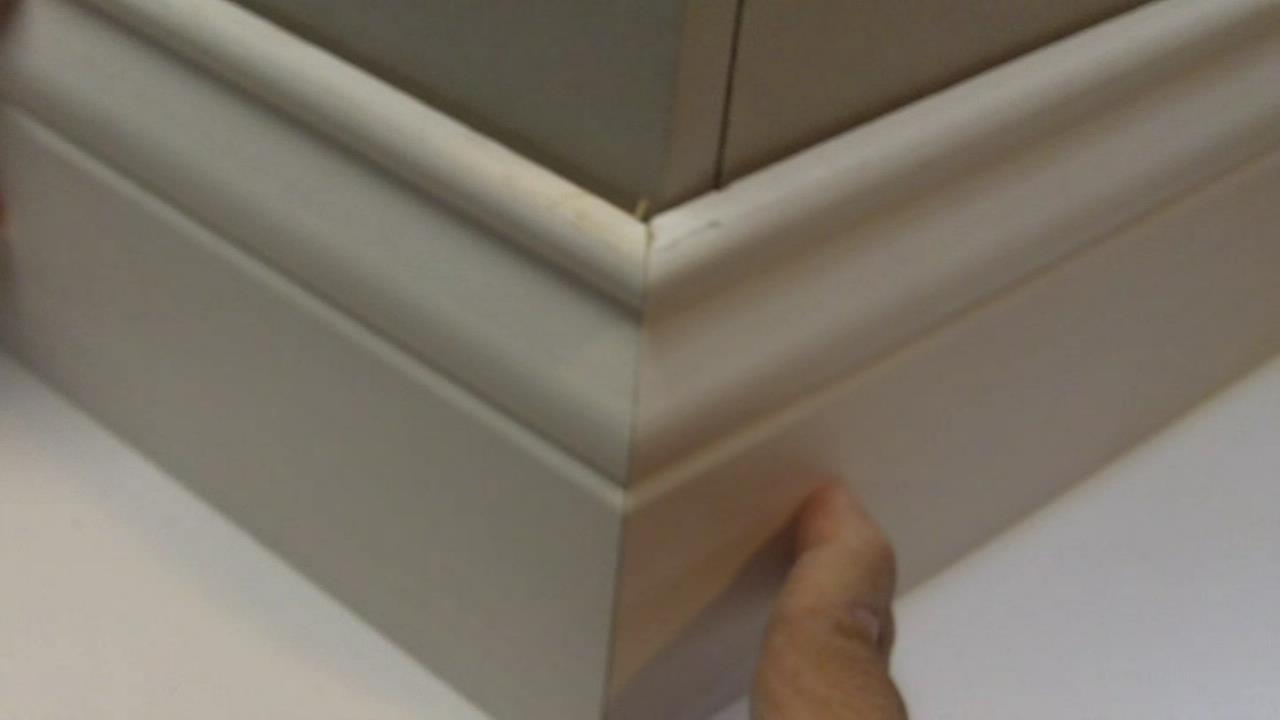 How to Make Perfect Outside Baseboard Corners  See Jane Drill