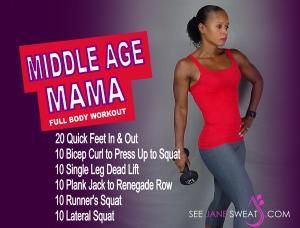 Middle Age Mama