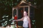 A parrot in Copan, Honduras