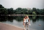Sophomore - Europe - London Park Jenn and Jules