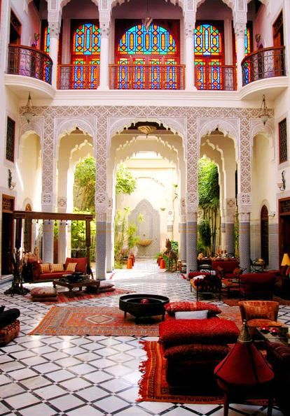 The Calm in the Chaos Channeling Indian Interiors