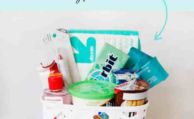 What To Bring A New Mom New Mom Essentials Gift Basket See Kate Sew