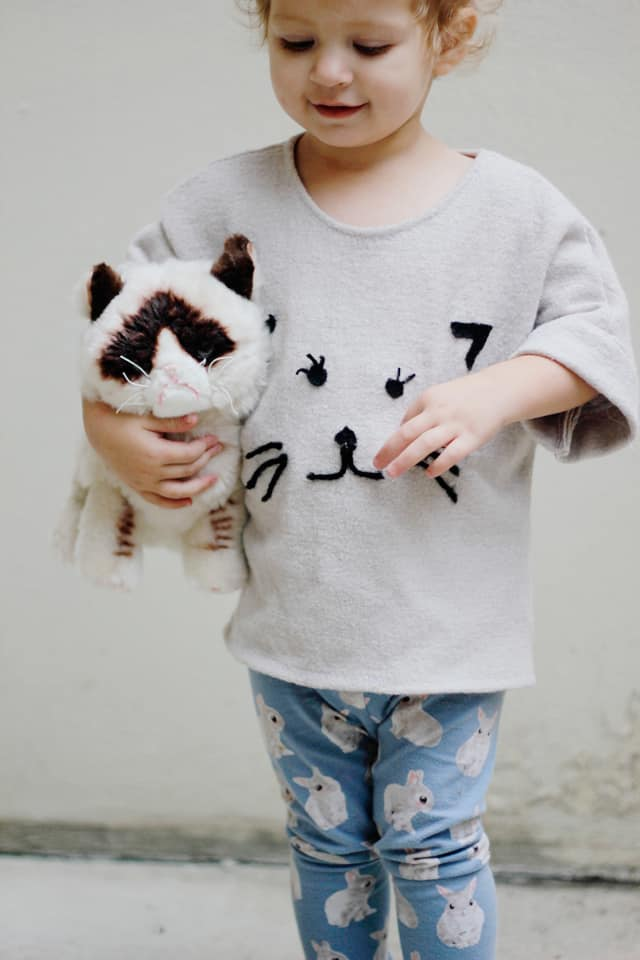 Diy Cat Sweater : sweater, CATOBER!, Needle, Felted, Sweater, Pattern, Month