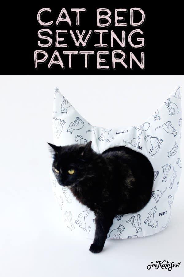 Cat Cave Sewing Pattern : sewing, pattern, Sewing, Pattern