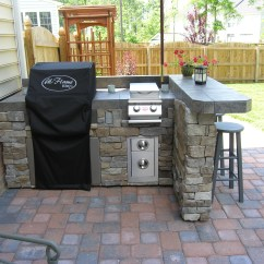 Diy Outdoor Kitchen Plans Sink Drain Catcher These Turn Your Backyard Into Entertainment Zone