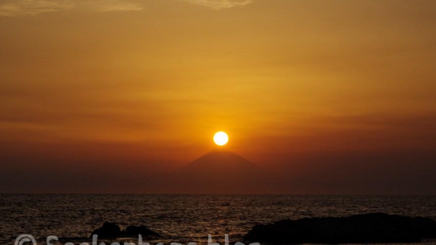 【リベンジ!!】ダイヤモンド富士を見に千葉・館山に行って来た!
