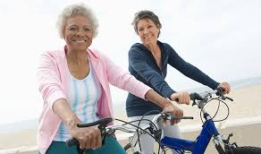 Electric cycling would improve seniors' mental health