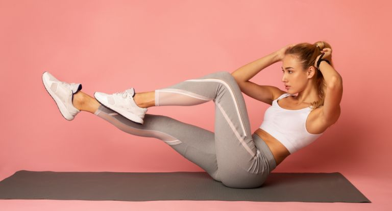The workout that will sculpt your belly at 10 ′