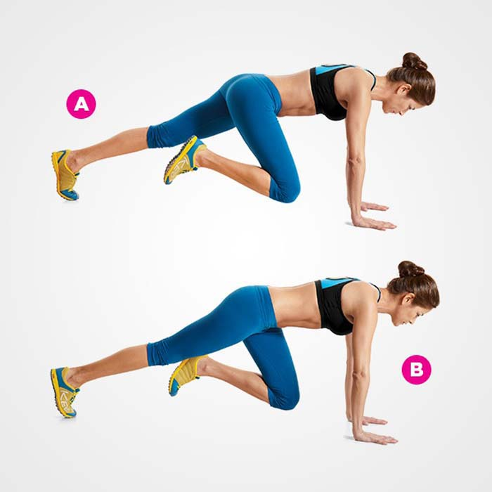 4 minute exercise routine