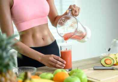 Abdominal muscles develop in the kitchen