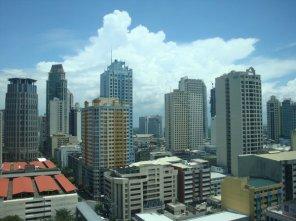View from Solaris One, Makati City - Taken June 23, 2009