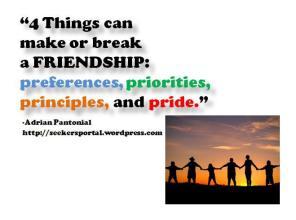 4 Friendship Factors
