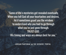 Adrian Pantonial - God Moves In Mysterious Ways