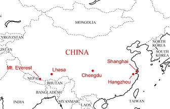 China and Tibet Trip 2009