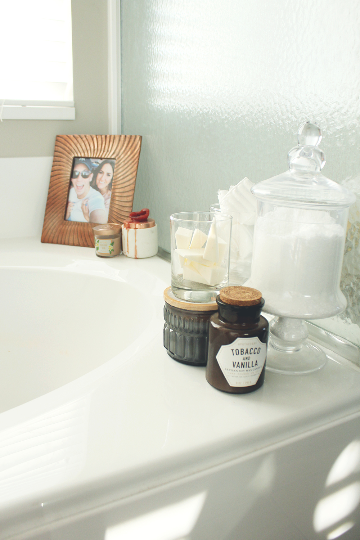 master bathroom after oasis modern oil rubbed tub decor