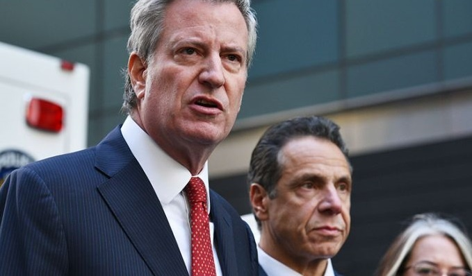 New York Mayor Bill de Blasio says that the city's specialized high schools have a diversity problem.