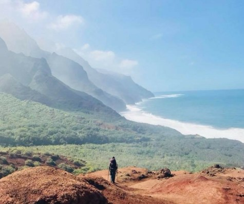 Descent into Kalalau
