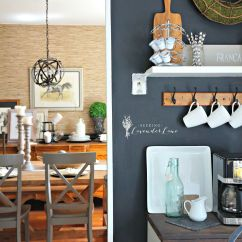 Chalkboard In Kitchen Island Exhaust Fans Hoods Adding Drama With A Wall