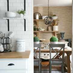 Lowes Kitchen Cabinet Hardware Hansgrohe Metro Higharc Faucet Week 3 Orc Marble Floating Shelves - Seeking Lavendar Lane