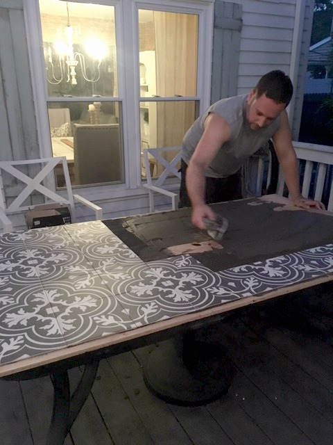 Replacement Tiles For Patio Table : replacement, tiles, patio, table, Tabletop, Seeking, Lavender