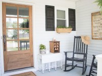 Front Porch Ideas: Small Front Porch Makeover - Seeking ...