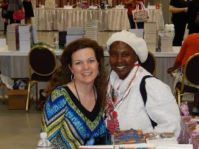 Marie Bostwick and me