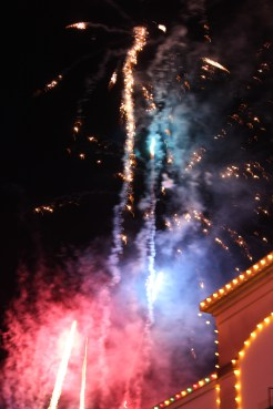 Fireworks at the Plaza