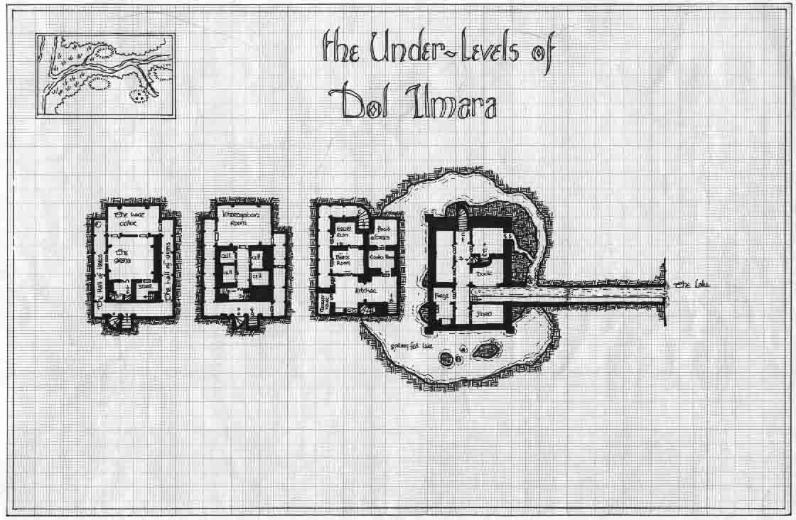 (Request) Map of a small keep with dungeons
