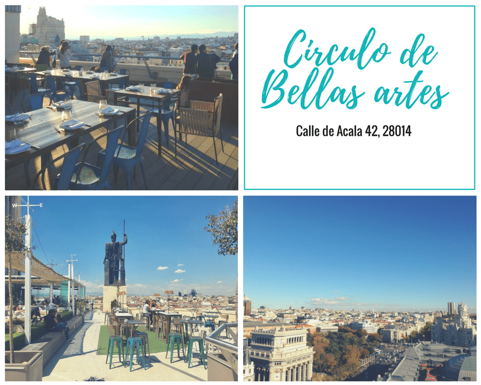 Rooftop Bar Madrid - Circulo de bellas artes