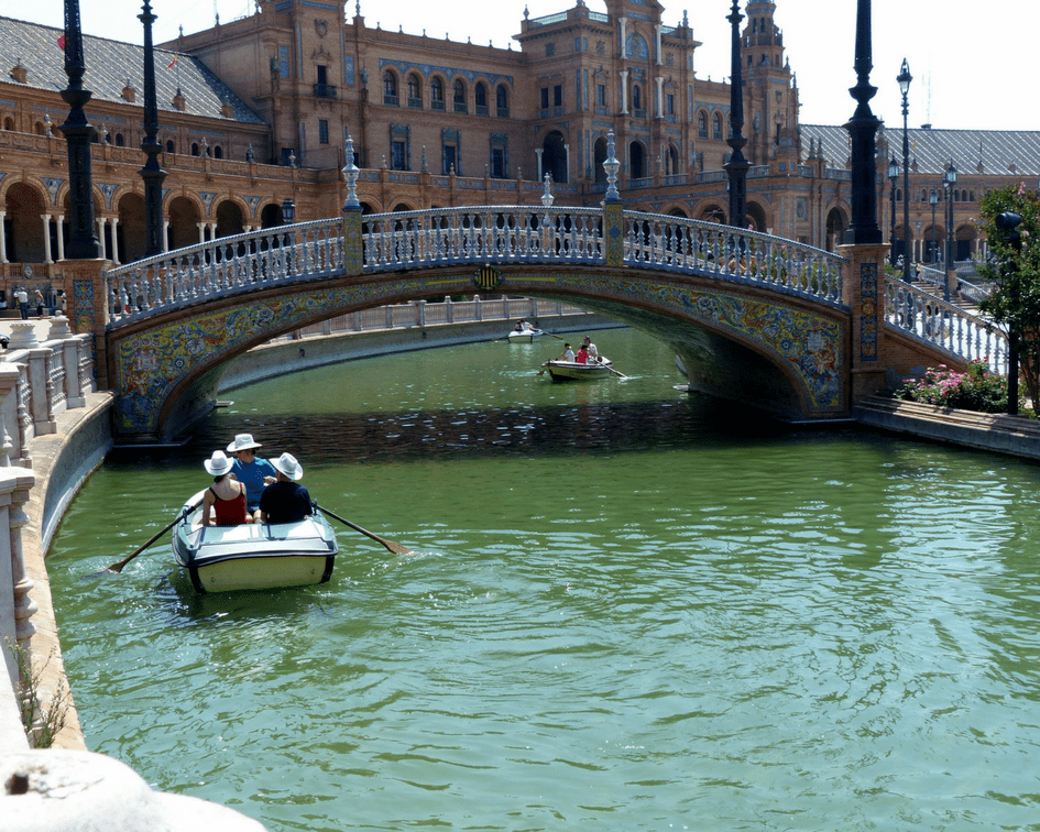 Seville is great for winter sunshine