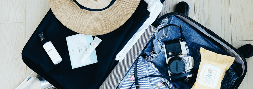 Tips for packing only hand luggage