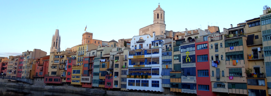 Exploring the city of Girona