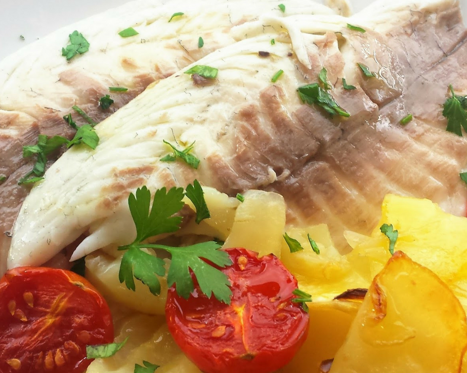 The most delicious seafood in Spain - Dorada